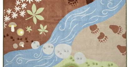 The Right On Mom Vegan Mom Blog Perfect Rug For A Forest
