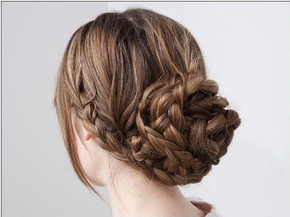 comment se coiffer rapidement cheveux long