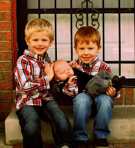 My three boys!