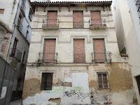 edificio histórico en ruina, calle Don Juan de Málaga 3-5