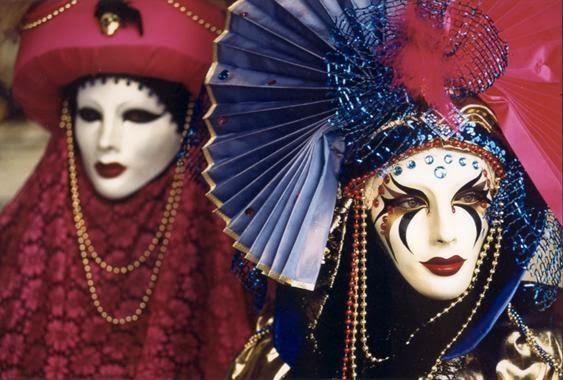 Maskebal og karneval i Venedig