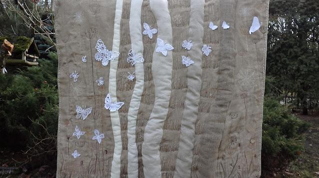 Motylki koronką klockową w doborowym towarzystwie!