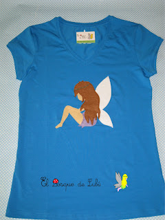 camiseta-customizada-decorada-fieltro-hada-el-bosque-de-lulu