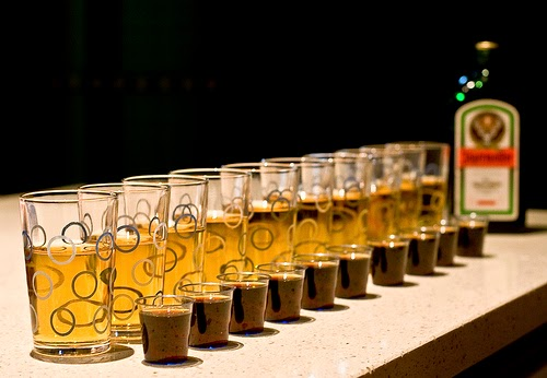 Jägerbomb's, Jager Train, Stag Do's, Lads weekend away, boys holiday