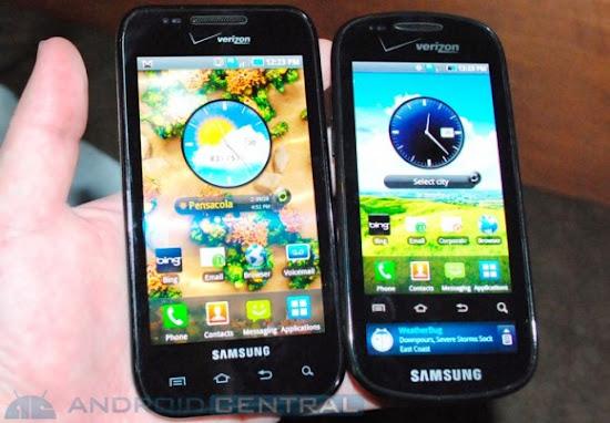 Inilah Ponsel dengan Dua Layar Read, Samsung Continuum, Samsung Galaxy S Continuum, Samsung Galaxy Continuum