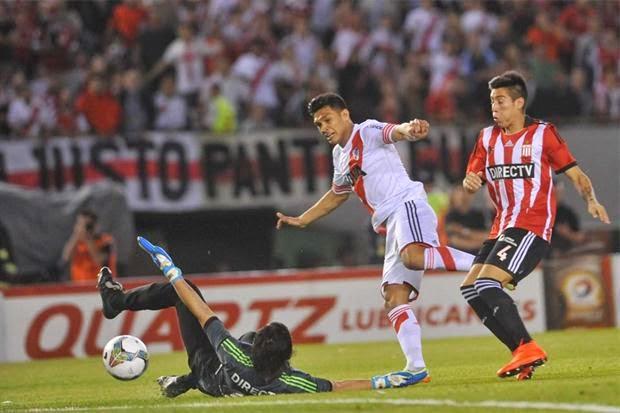 El gol más rapido de la sudamericana, Teo Gutierrez, Gutierrez, Teófilo, River Plate, River, Estudiantes, Gallardo, Gallardeta,