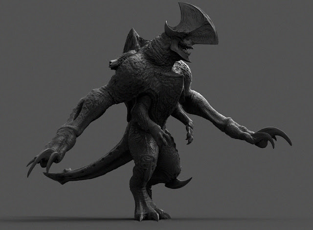 Kaiju Battle: Pacific Rim Concept Art