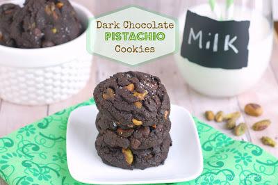 #darkchocolate #pistachio #cookies #dessert #snack