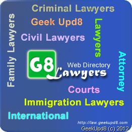 G8 Lawyers Web Directory Logo