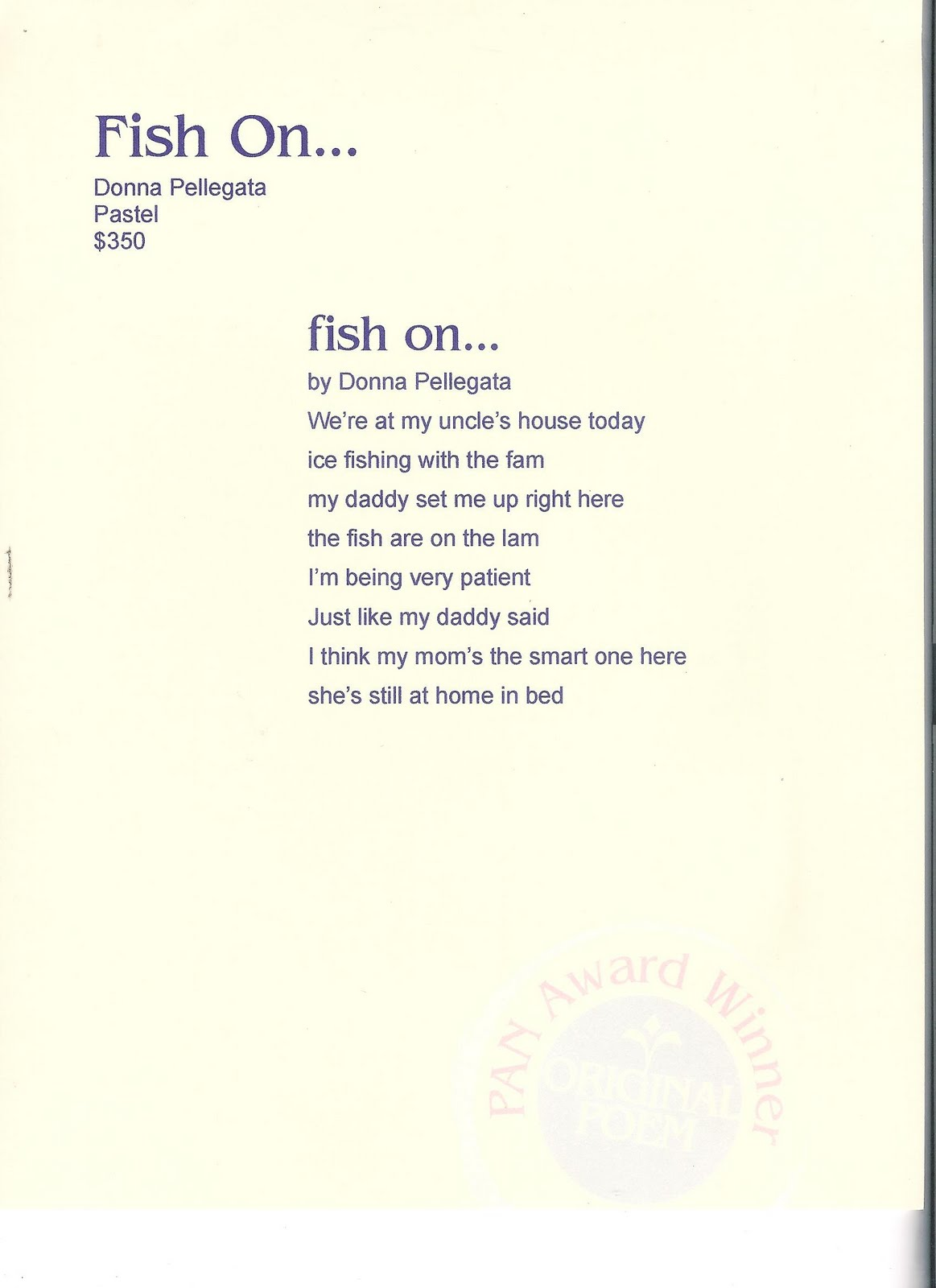 Little fish poem pictures to pin on pinterest thepinsta for The fish poem
