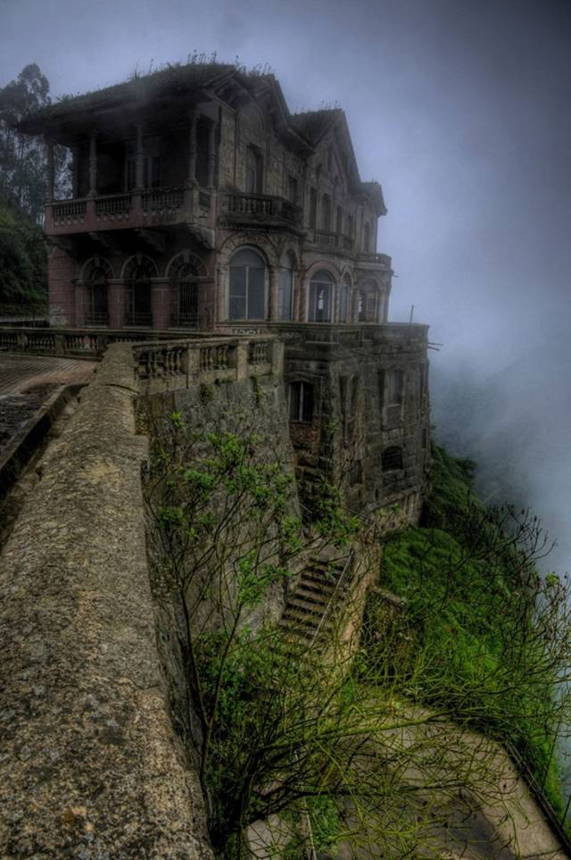 17. El Hotel del Salto in Colombia