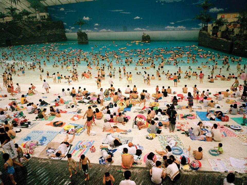 spiaggia artificiale