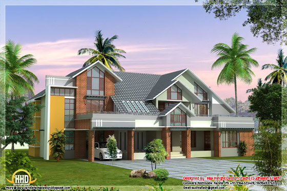 3700 Square Feet Modern contemporary Kerala house