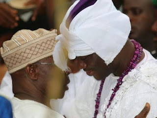 Former President Visit The New Ooni of Ife