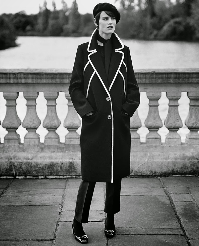 Noblesse Obligue Saskia de Brauw Vogue Paris December 2014