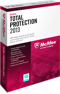 McAfeeTotal Protection 2013