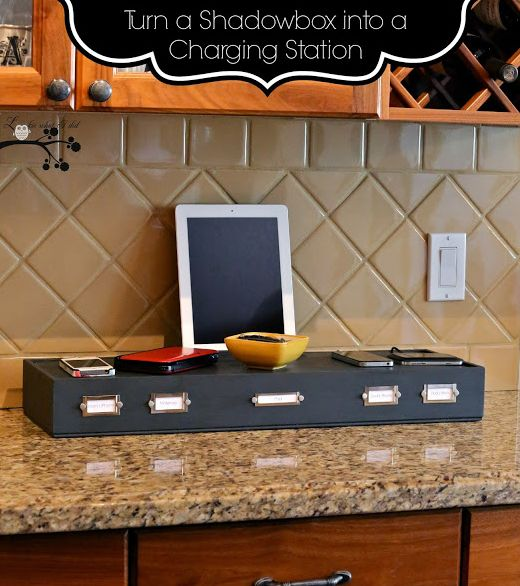 Shadow Box to Charging Station