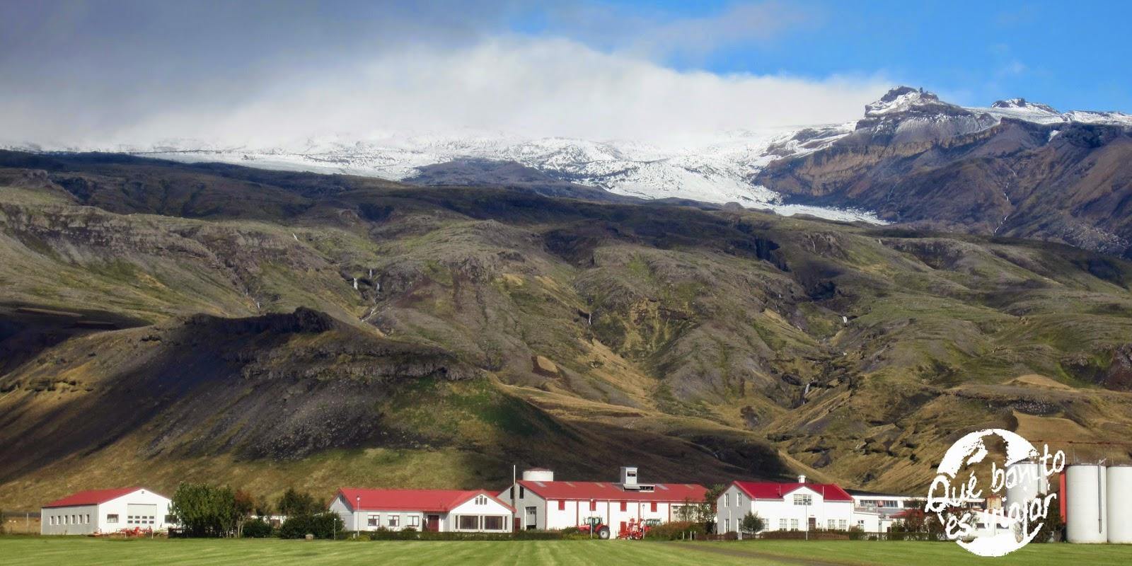 El volcán islandés que la lió parda