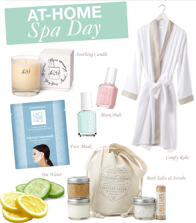 At home spa day a good hue for A better day salon