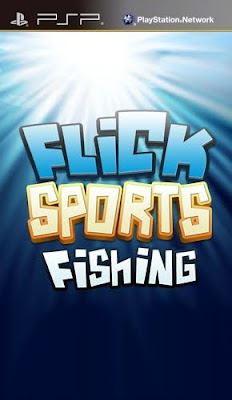 Flick Fishing PSP Game Cover Photo