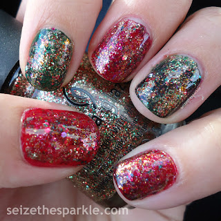 China Glaze Holiday Manicure