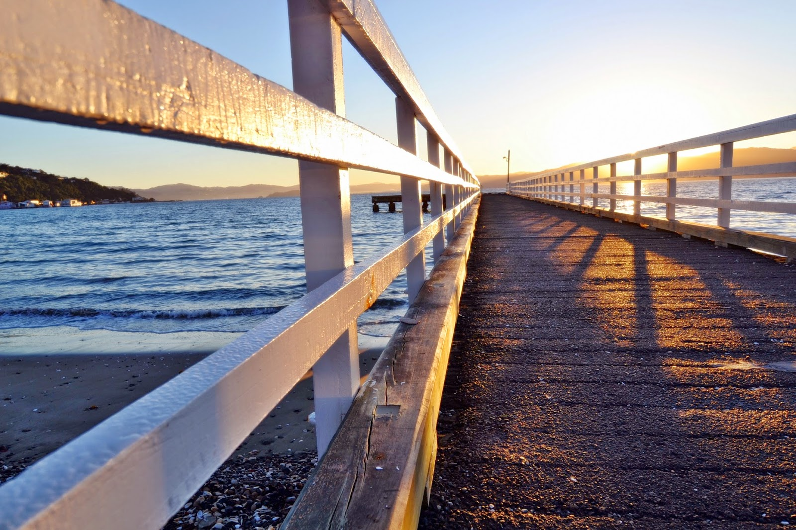 Seatoun Pier low angle
