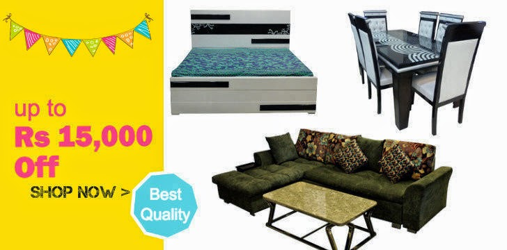 Buy furniture online at great prices this festival season