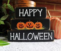 Halloween Shelf Sitter Blocks