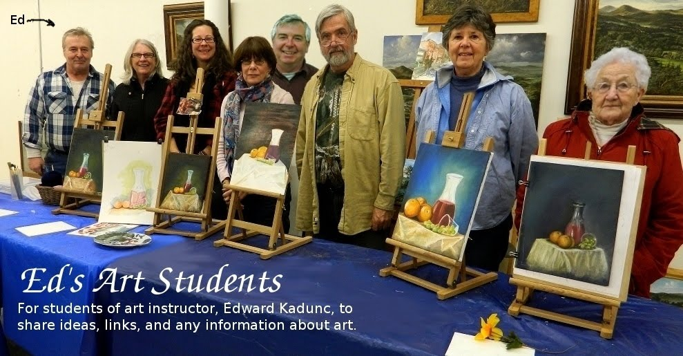 Ed's Art Students