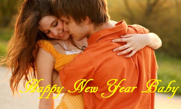 romantic new year images, new year hot  pic, hot kiss wallpaper