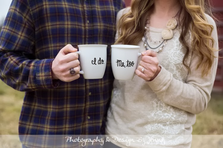 coffee mug save the dates i do wedding mugs