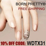 Born Pretty Store 10% off Coupon Code