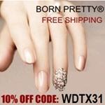 Born Pretty Store 10% off Coupon Code