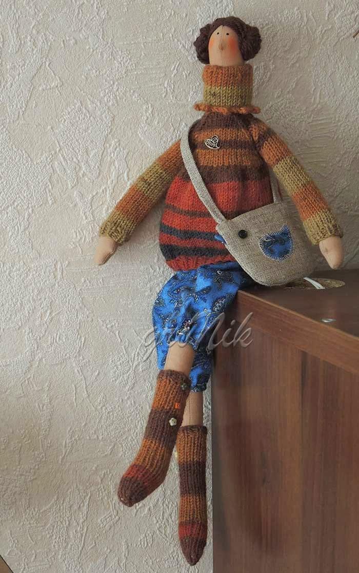 кукла текстильная. тильда