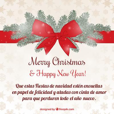 Frases de navidad y año nuevo