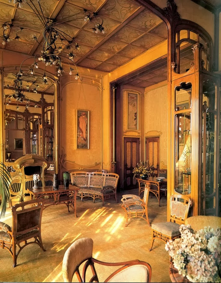 Hôtel Solvay, Victor Horta, 1900