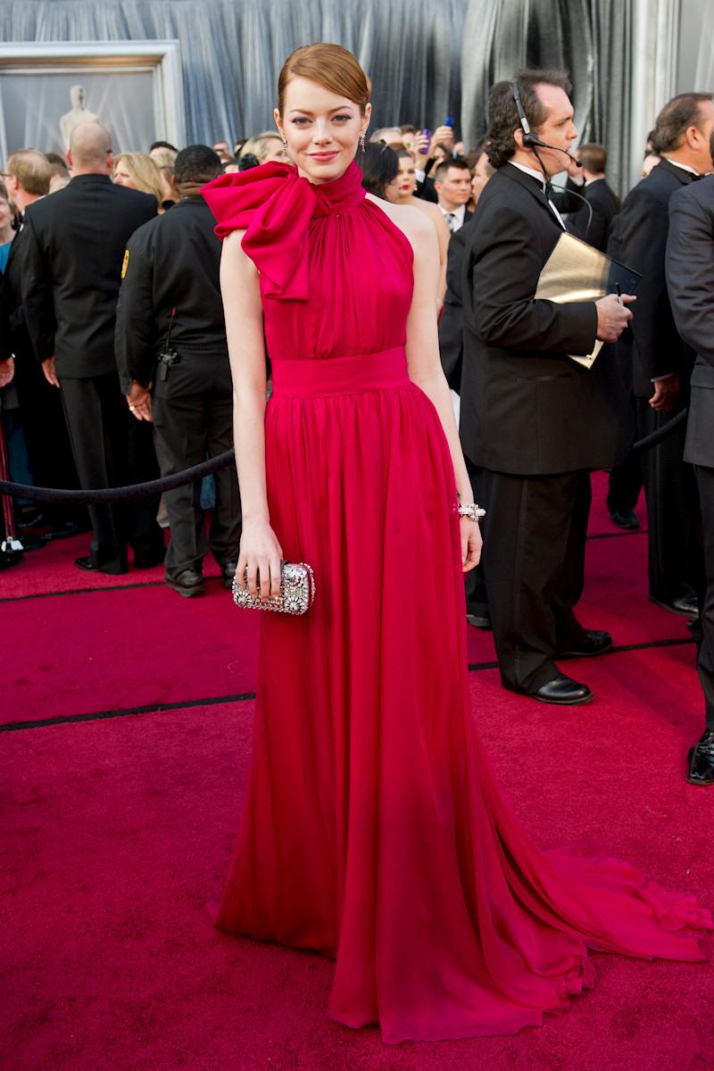 Emma Stone Oscar 2012