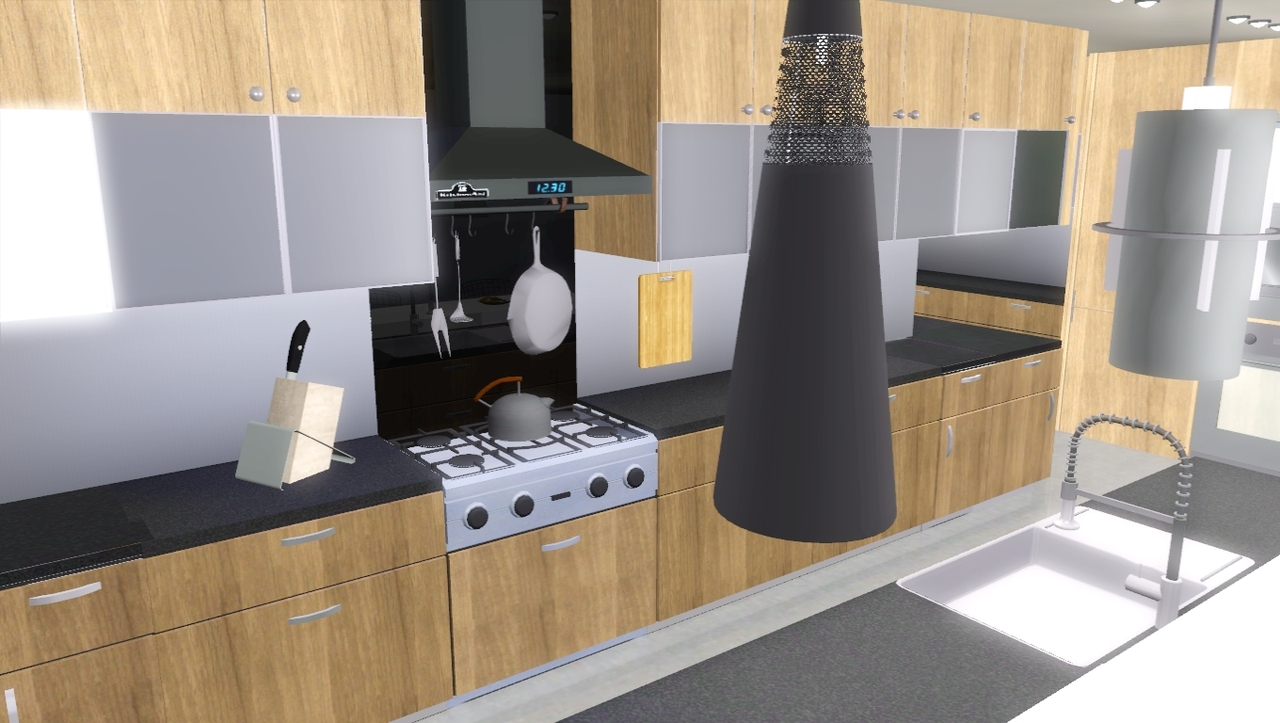 Sims 3 Kitchen My Sims 3 Blog Urban Oasis Kitchen Set By Marcussims91