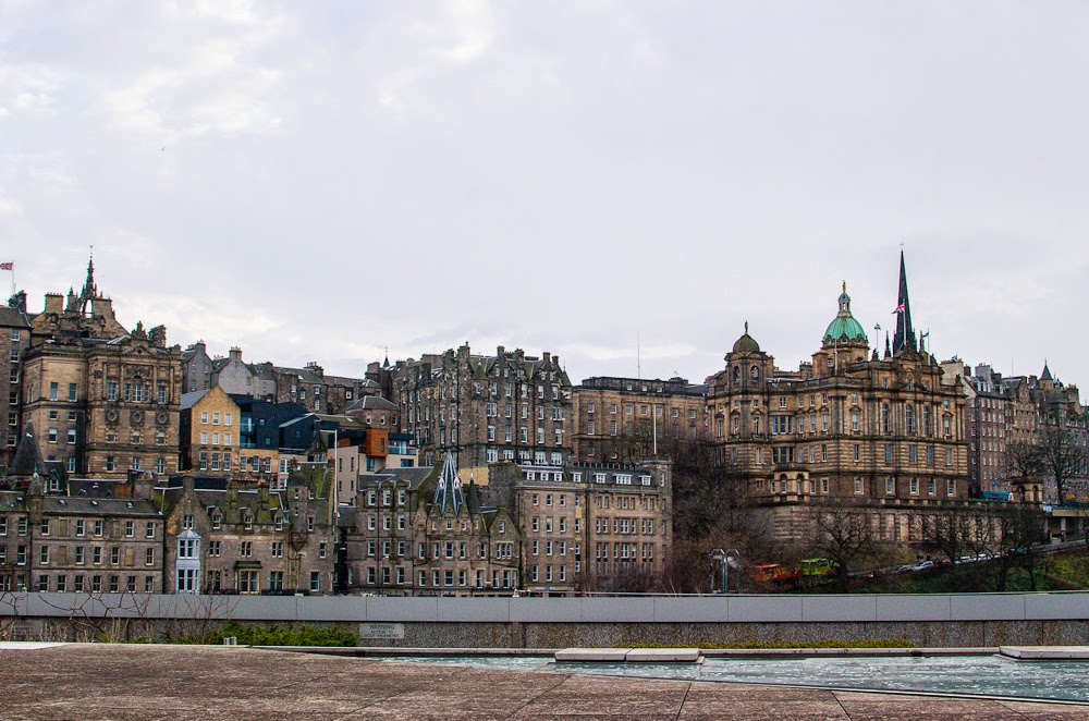 Edinburgh city new town