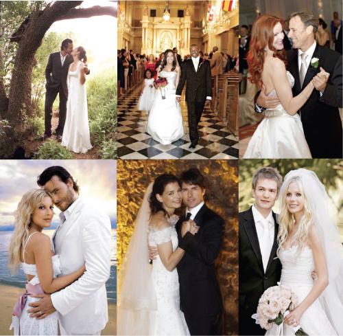 Weddings Pictures Gallery: Celebrity Wedding Pictures And Celebrity Wedding Photo