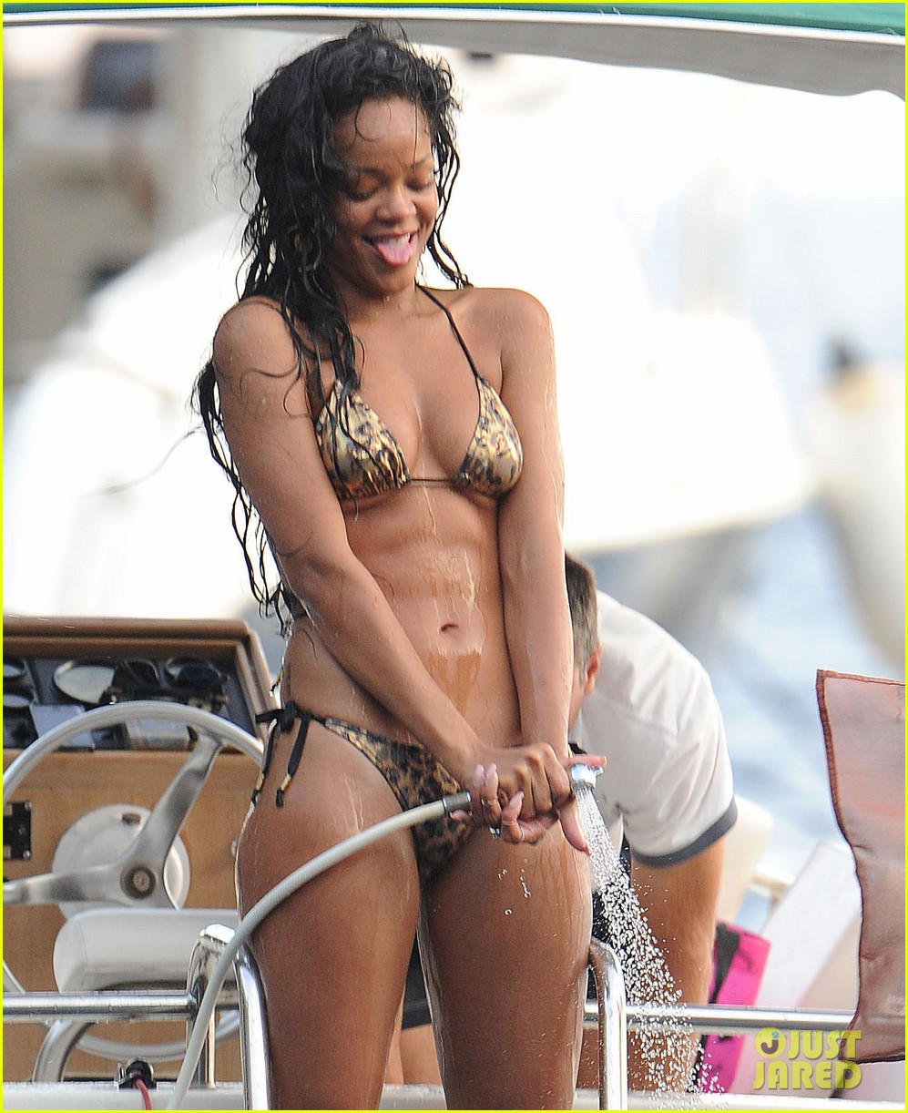 Apologise, Rihanna s pussy at the beach absolutely