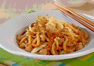 Udon Goreng Ayam Asap