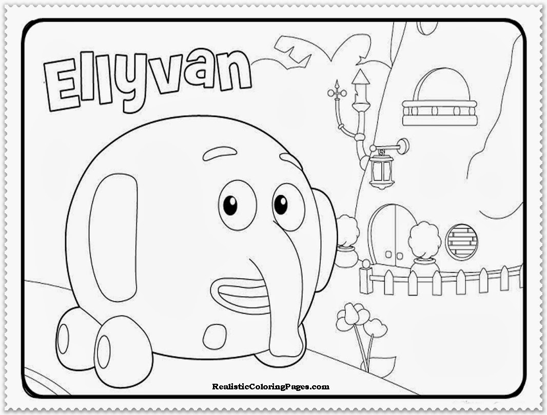 free jungle junction coloring pages