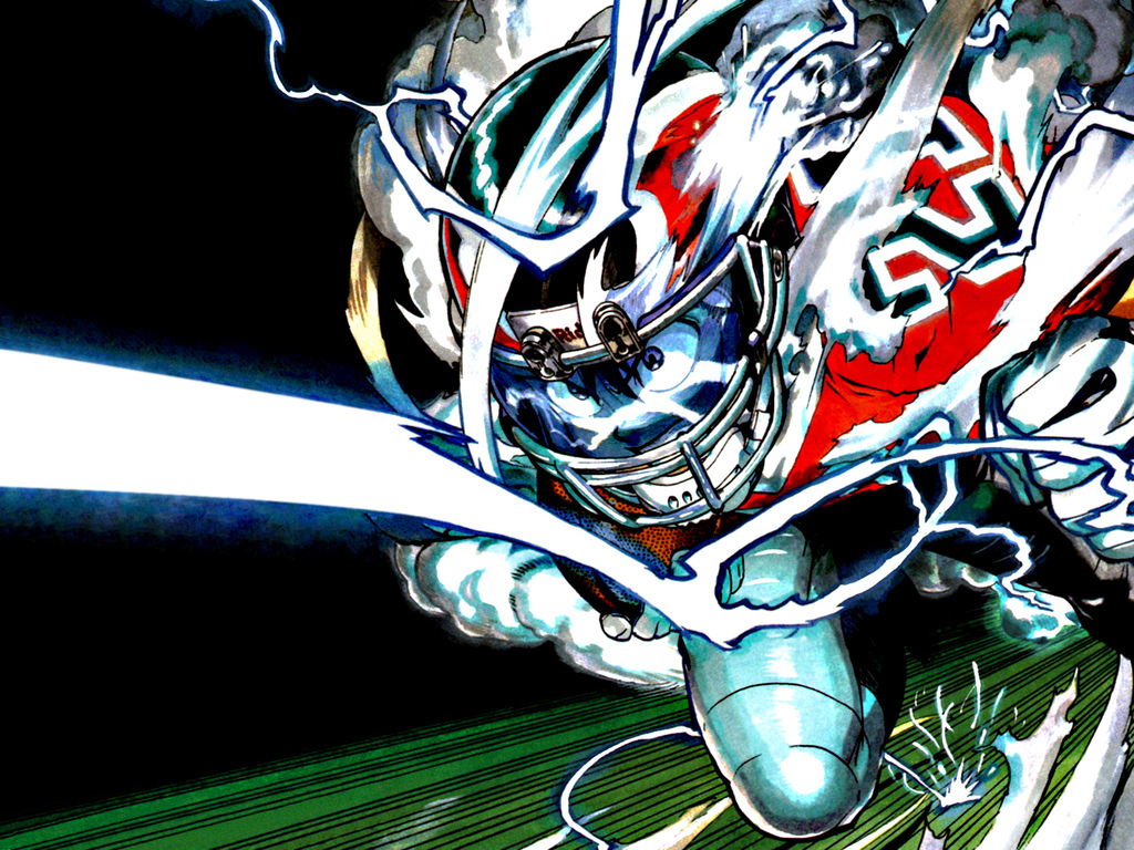 Wallpaper Eyeshield 21 Hiruma - Wallpaper Pictures Gallery
