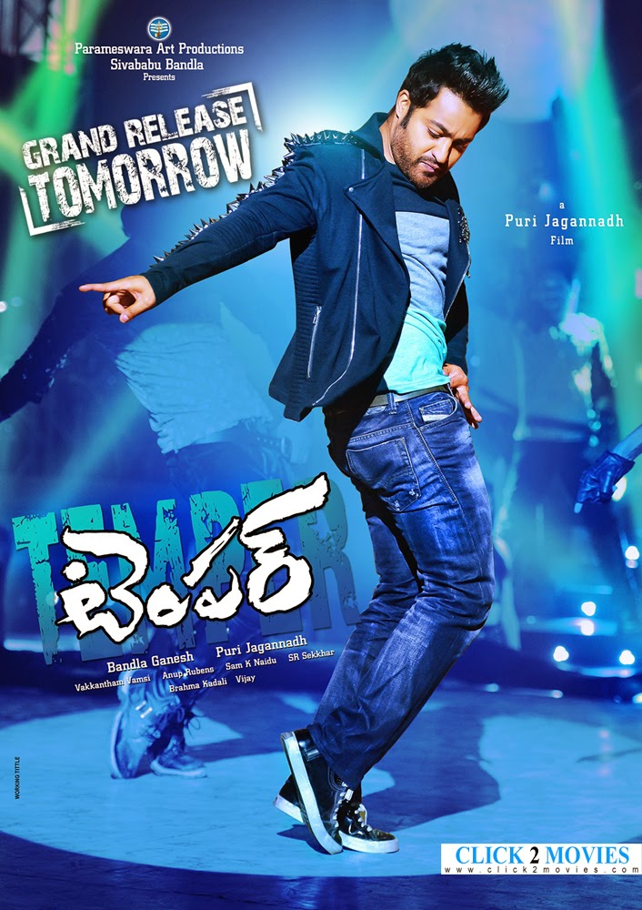 Temper Movie Tommorow Release Wallpapers Posters