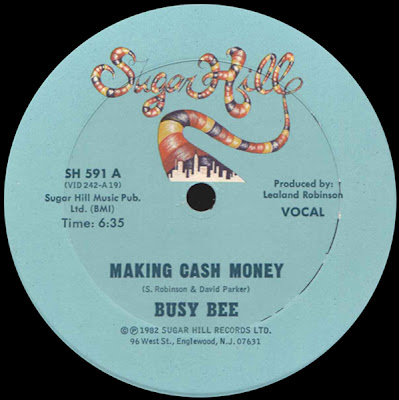 Busy Bee ‎– Making Cash Money (VLS) (1982) (192 kbps)