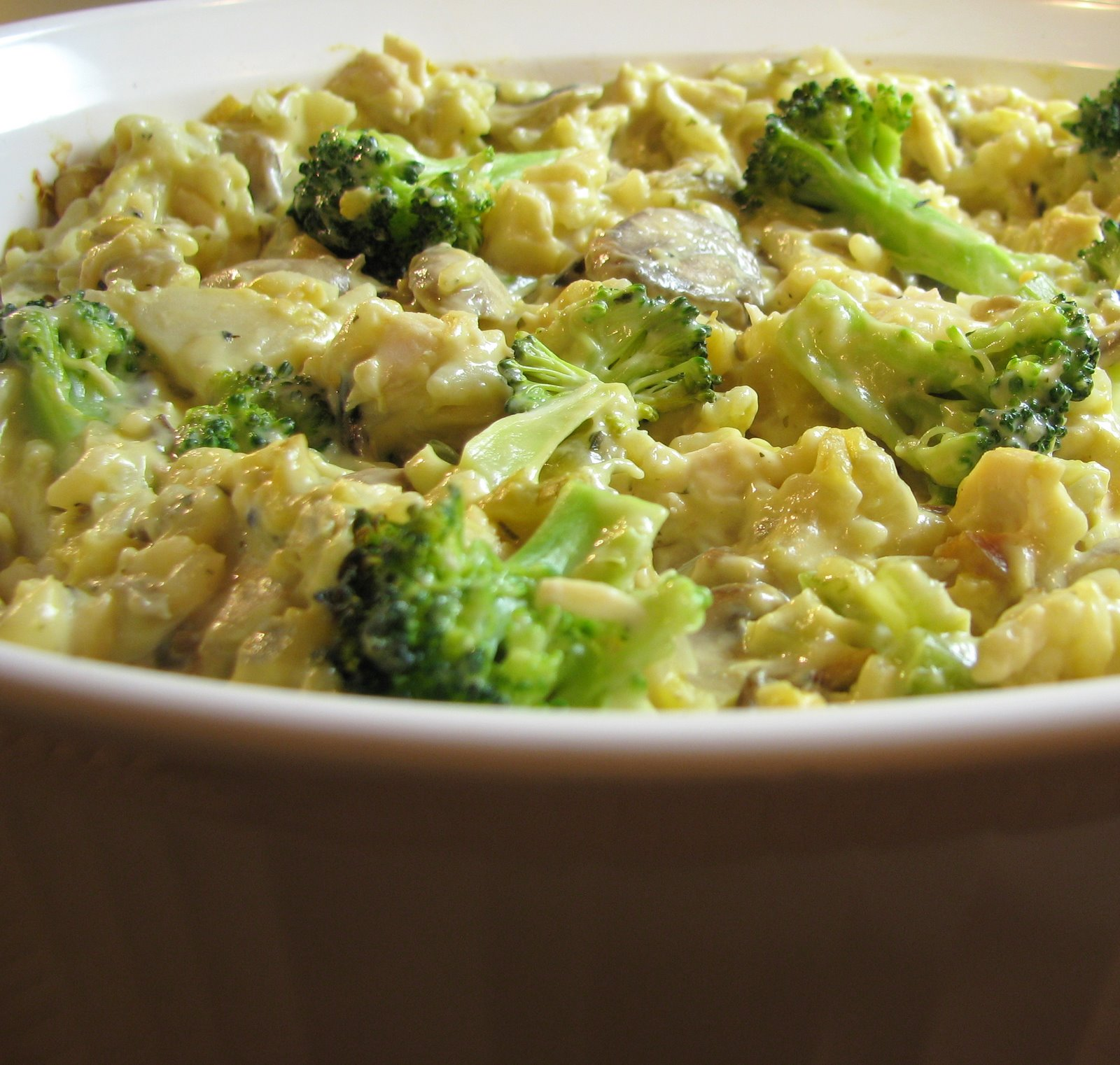 Christina's Blog Spot: Low Fat Chicken, Broccoli and Rice Casserole