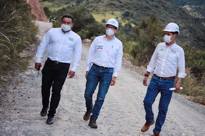 Gobierno de Boyacá socializó Pavimentación de la vía Belén - Tutazá