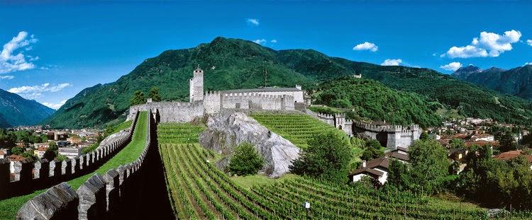 Svizzera: visitare Bellinzona e i suoi castelli