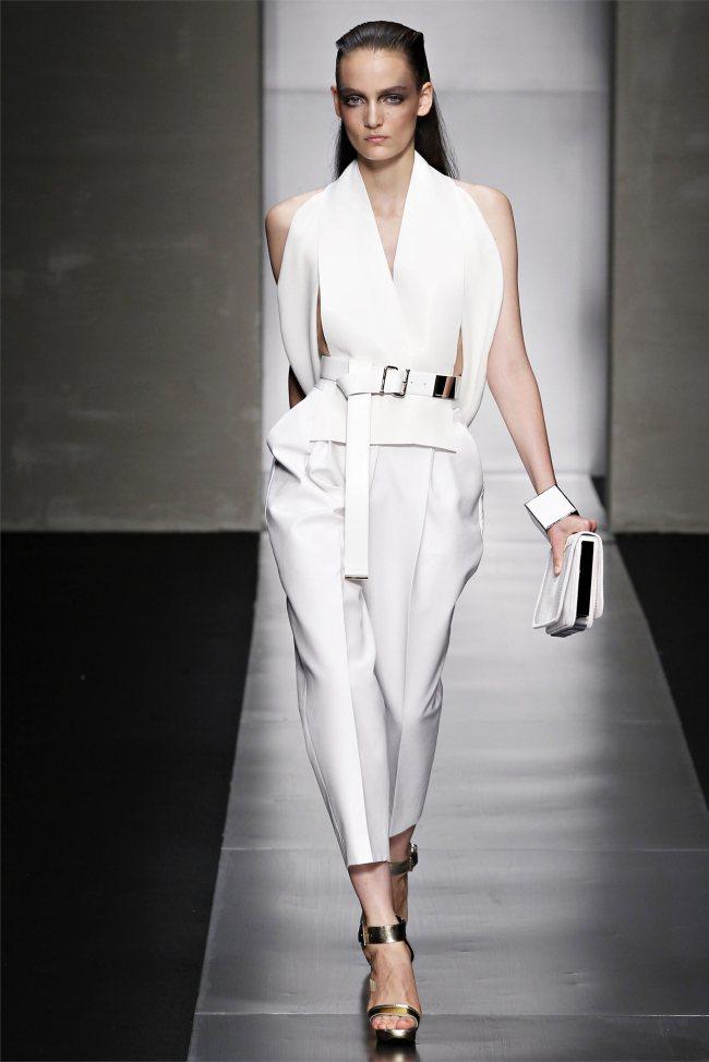 fashion portrait: GIANFRANCO FERRè SPRING 2012